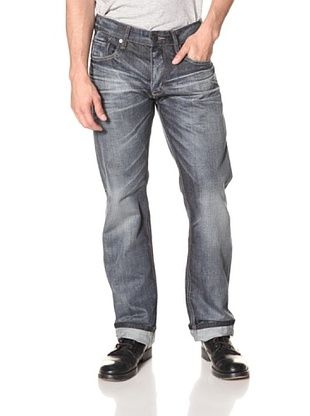 7 Diamonds Men's Romley Washed Relaxed Fit Jean