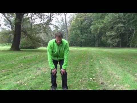 Cvičení na bolesti kolen. Automasáž na bolest kolen. - YouTube
