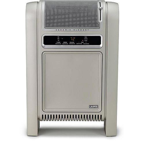 Electric Cyclonic Ceramic Heater Portable Space Heaters 1500 Watt Winter Heating #Lasko