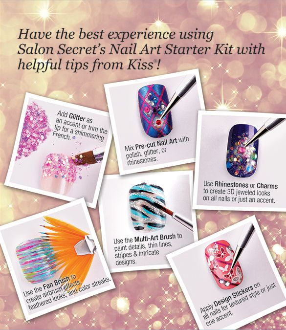 Kiss Salon Secrets Nail Art Pro Tool Kit Nsat01: 142 Best All About DIY Nail Art Images On Pinterest