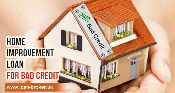 People often ask this question and to be straight forward, the answer is yes! People with bad credit score can avail home improvement loan for bad credit situations. Even people with no upfront fees and no guarantors can also apply for a home improvement loan at loan broker uk. Upgrade your home to your dream home now! Kindly visit our website for instant quotes @ http://www.loan-broker.uk/home-improvement-loans.html