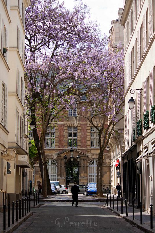 The Place de Furstenberg is famous as one of the most charming squares in Paris