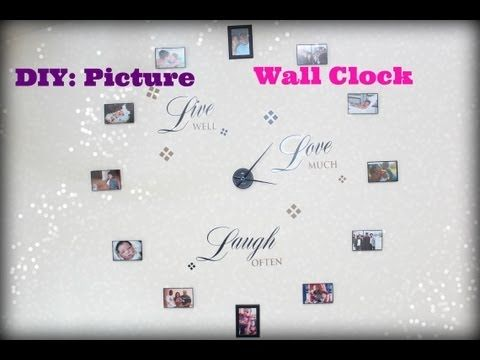 ▶ DIY: Picture Frame Clock - YouTube