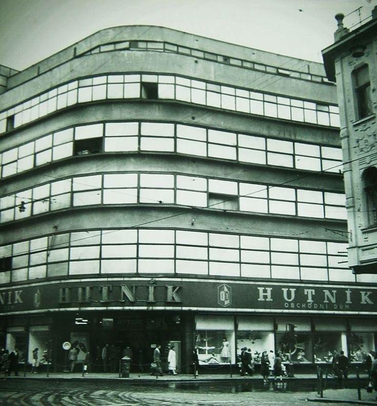Obchodní dům Hutník kdysi ASO