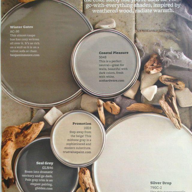 111 best images about florida color palettes on pinterest for Warm neutral gray paint color