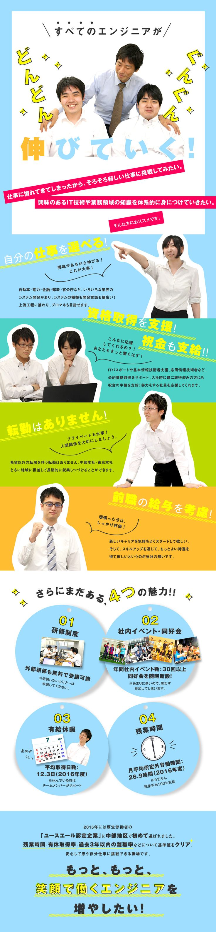 株式会社エイエイエスティ/ITエンジニア(オープン系・業務系システム開発/組込みソフトウェア開発)の求人PR - 転職ならDODA(デューダ)