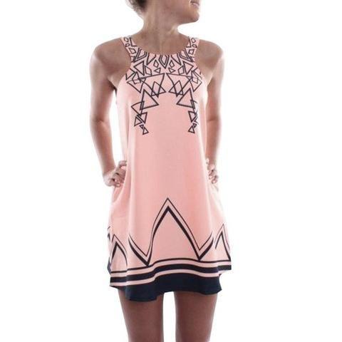 Fun Geo Dress