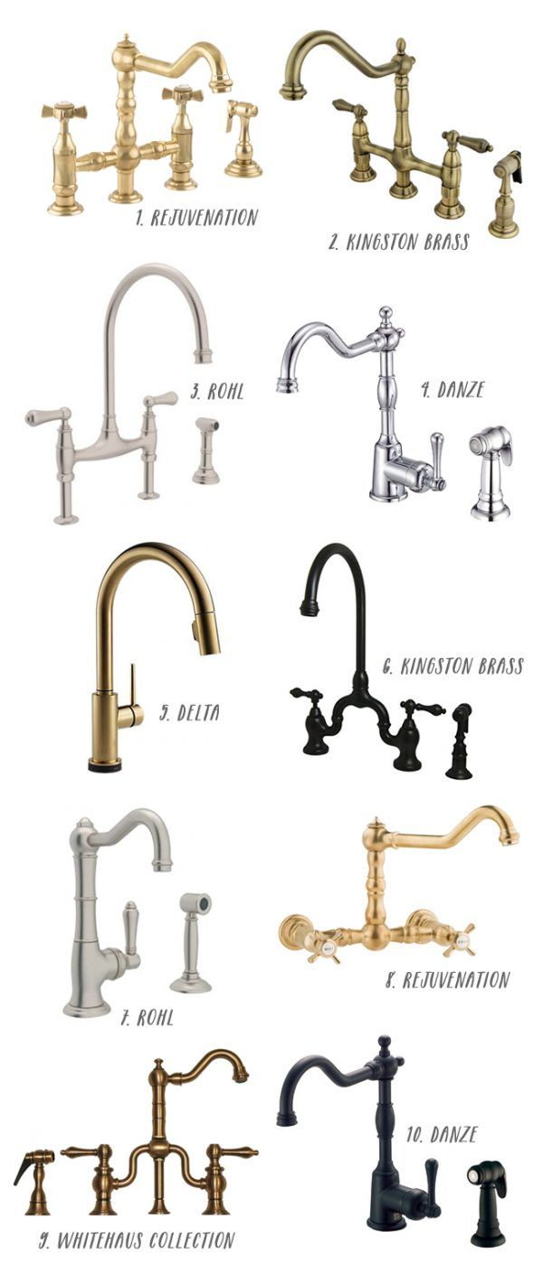 10 Great Kitchen Faucets - click through for more details!