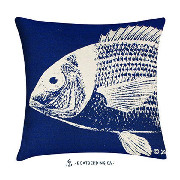 BoatBedding-poisson-blanc-sur-bleu-20X20