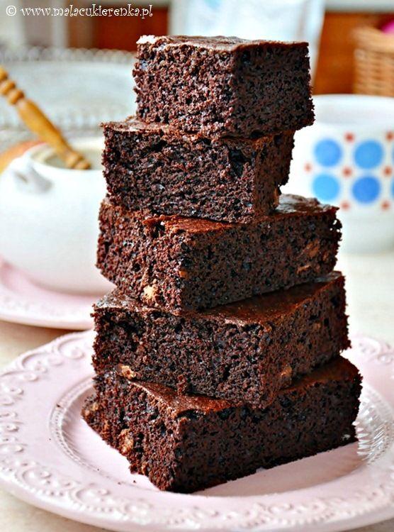 brownies z czekolada