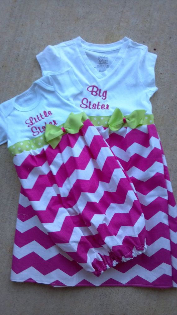 Custom size Boutique Baby layette wholesale gown shower sister big little personalized diva sack dress first pictures taking home portra