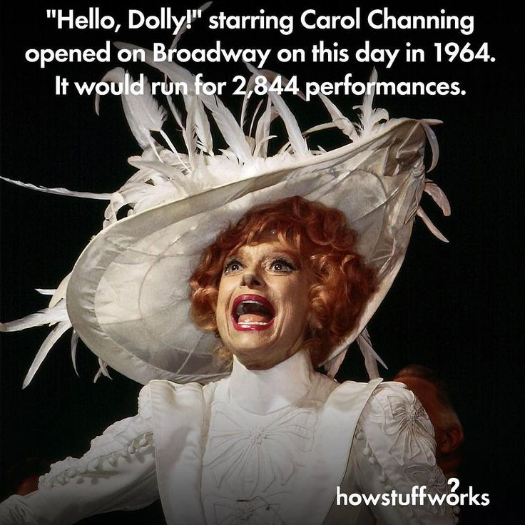 1000+ ideas about Hello Dolly Broadway on Pinterest ...