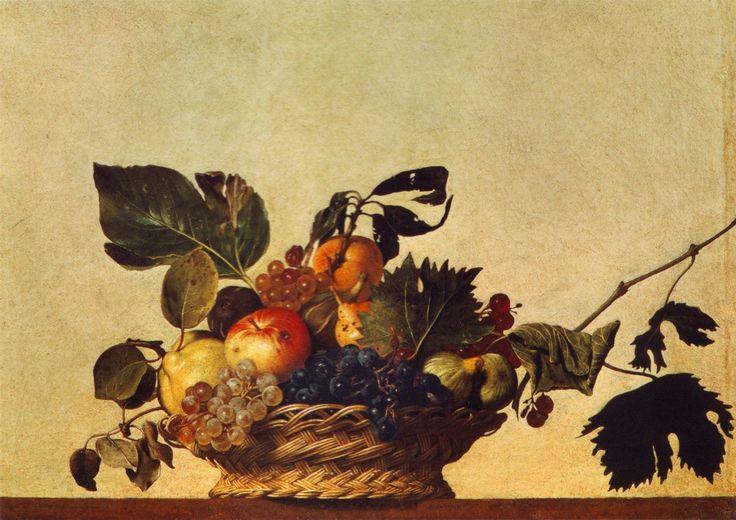 Caravaggio, Basket of Fruit, 1596.
