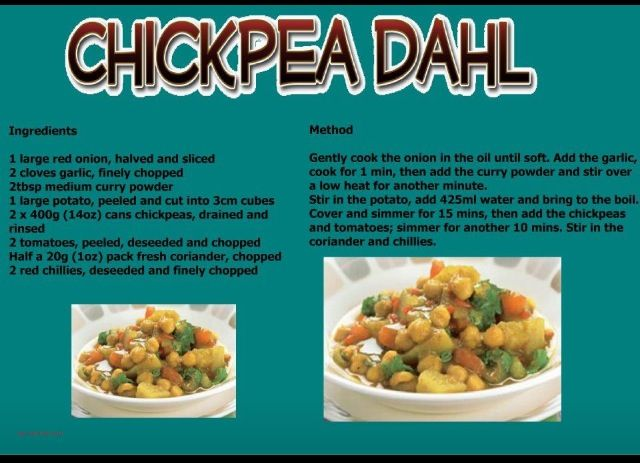 Chickpea Dahl the Slimming World way. | Slimming World ...