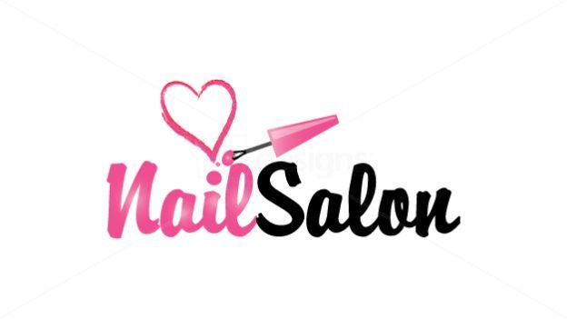 nail logo beauty nails