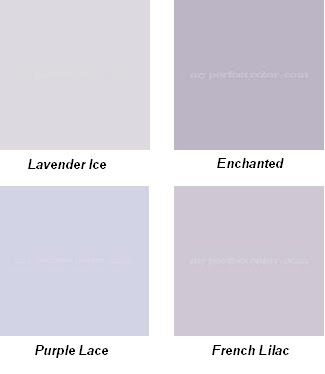 A Purple Girls Room, Benjamin Moore Paint Colors… I think Lavender Ice for Little Sister's room