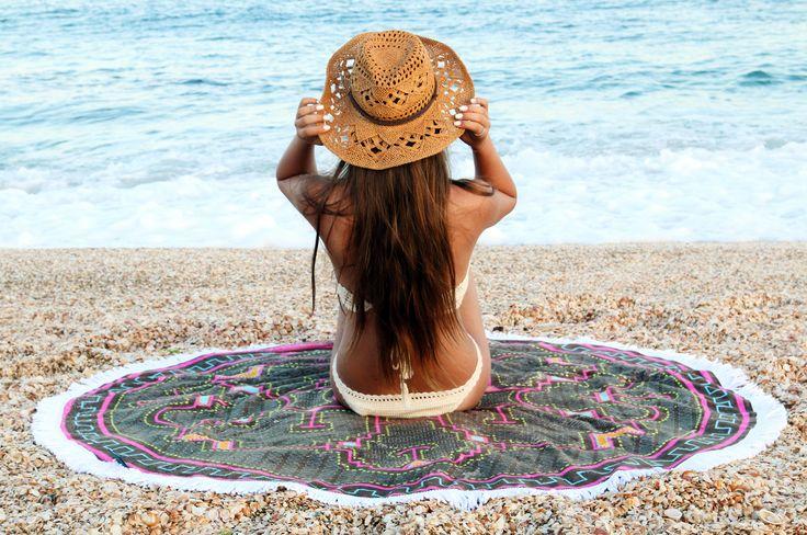 Round Beach Towels !!!!