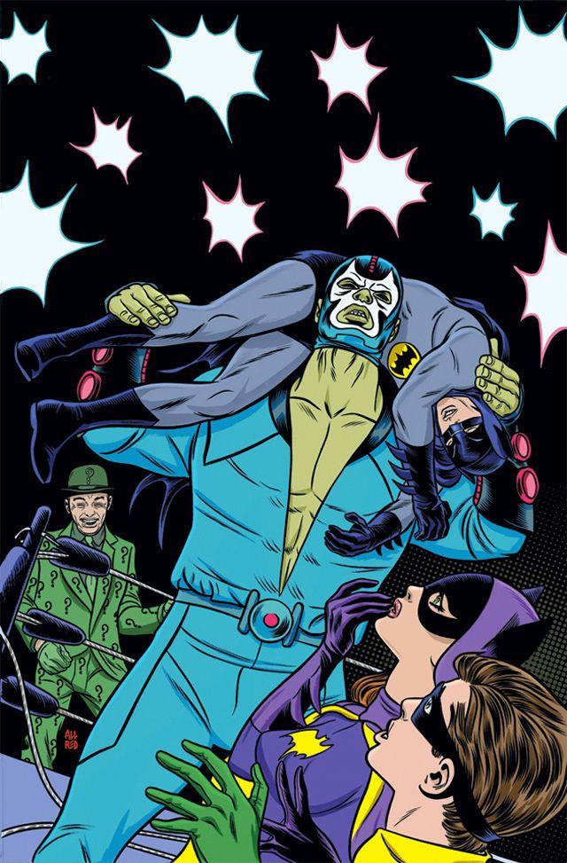 ¡Por fin! DC presenta al Bane de los años sesenta y es mexicano