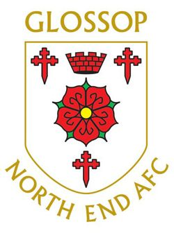 This is a logo owned by Glossop North End A.F.C. for Glossop North End A.F.C. Football Club