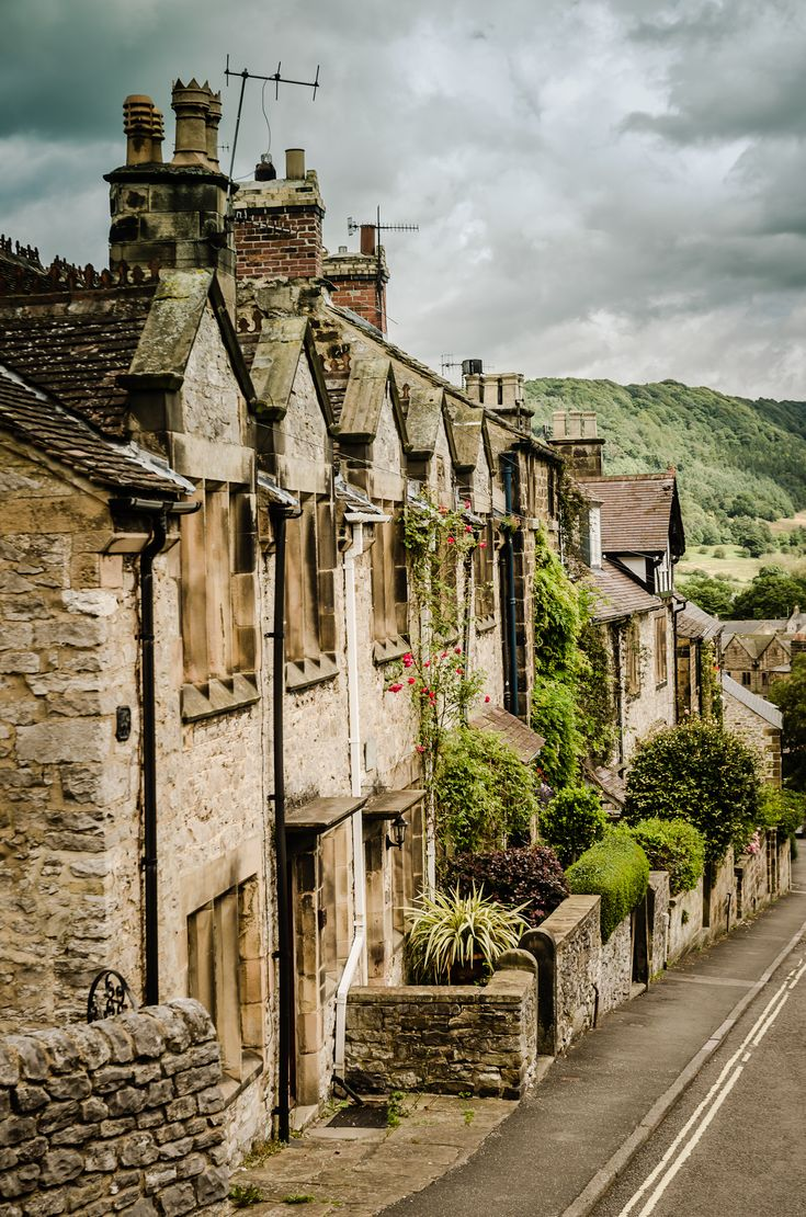 Bakewell Cottages, In the Peak District; the most quintessential village of all times. Try a Bakewell tart while you are there!