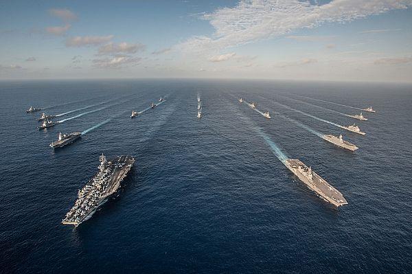 "retrowar: ""Ronald Reagan Carrier Strike Group """