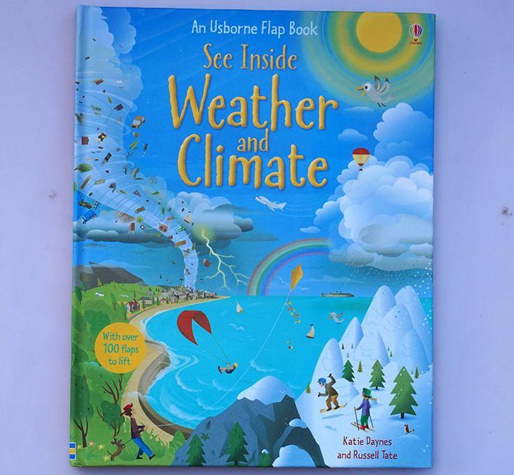 1 шт. Английский Аватар Флип Обучение Образование книги Для детей детские Для Детей видеть погоды и климата купить на AliExpress
