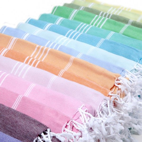 Organic Turkish Towel pestemal, woven on handlooms and colored with natural dyes. Thin and absoptive, easy to dre, just comfy