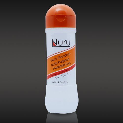 Original Nuru Massage Gel 8.45 Ounces by Nuru Gel. $19.99. This is the Original Nuru Gel used around the world to give Nuru Massages. The gel contains Nori seaweed extract, camomile and other revitalizing minerals. It is colorless, tasteless, odorless and extremely slippery without leaving a sticky residue. This is the concentrate formula - so it is thicker and will last longer than other brands. It is perfect for your next Nuru Massage or for any other massage. Nur...