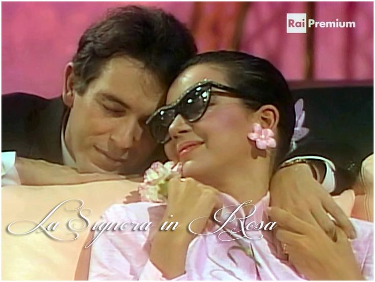 Rossella Ferrer e Marco Clemente - La Signora in Rosa - Telenovela -