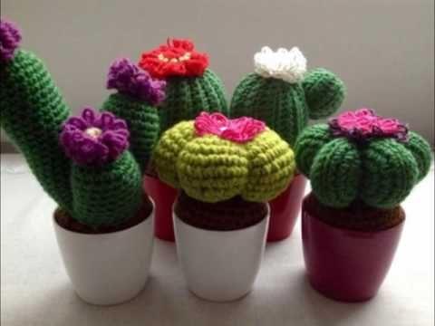 Tutorial Cactus Ganchillo | Crochet Aloe Vera - YouTube