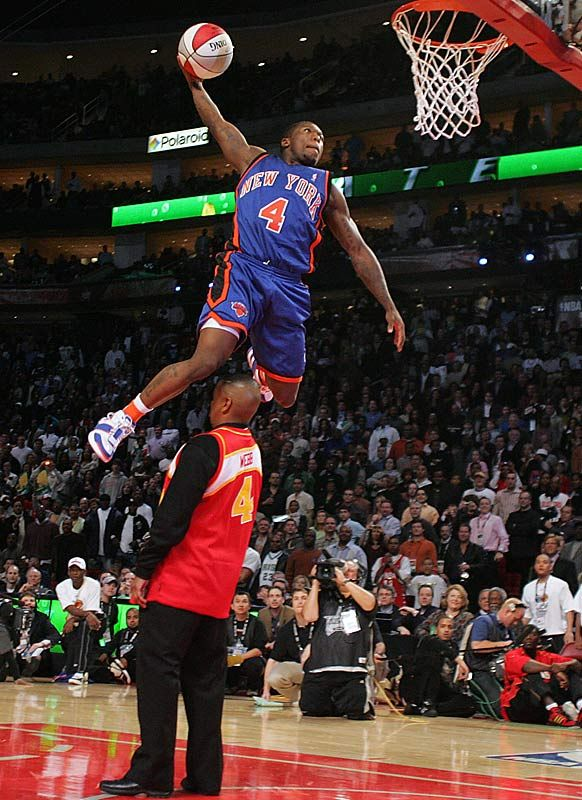Nate Robinson Dunking Over Shaq Nate Robinson. Dunk Co...