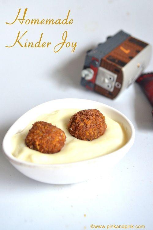 kinder joy recipe