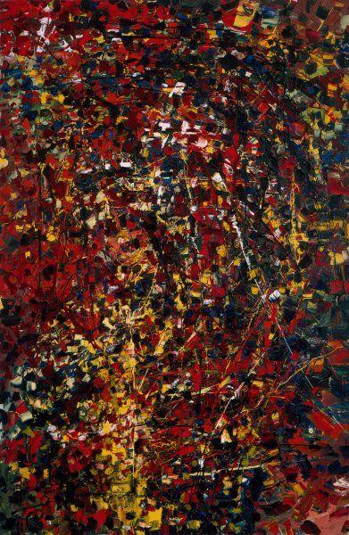 Jean-Paul Riopelle (Canada, 1923-2002) – Composition (1951) Musée d'art contemporain, Montréal