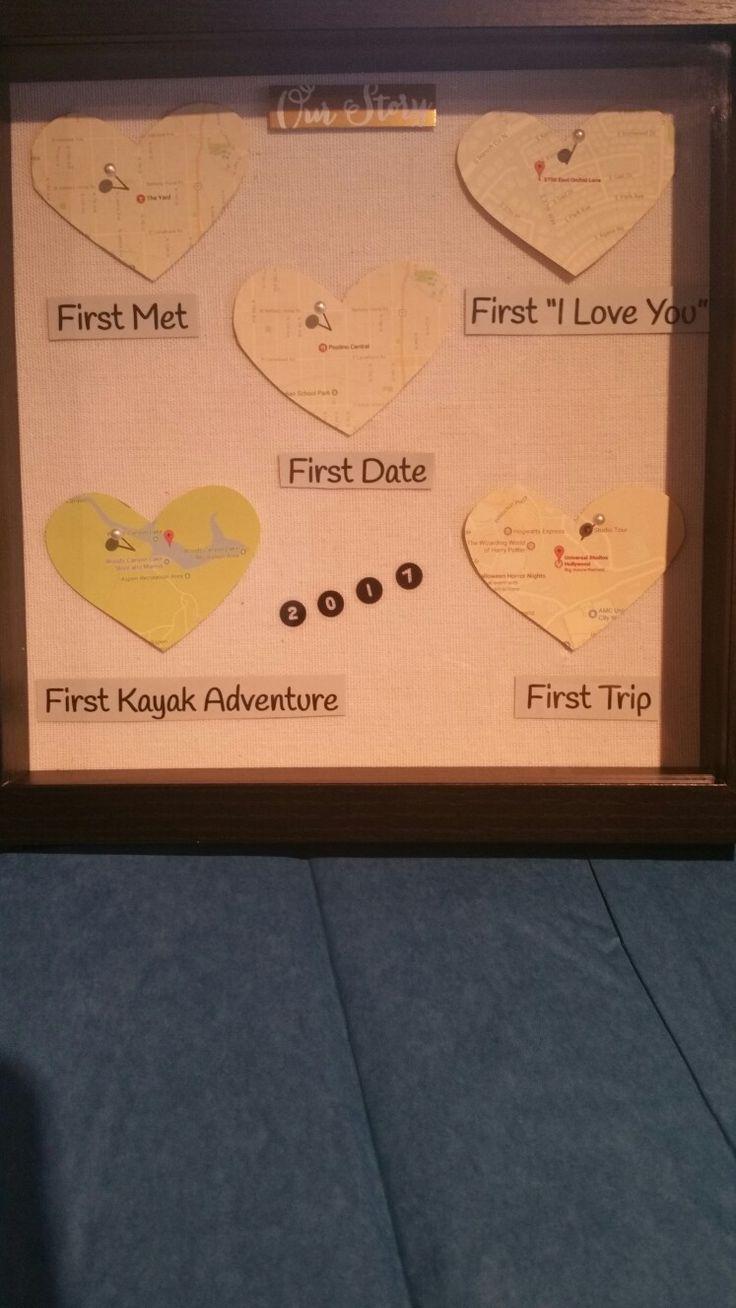 Geschenke zum ersten Jahrestag für einen Freund oder eine Freundin.