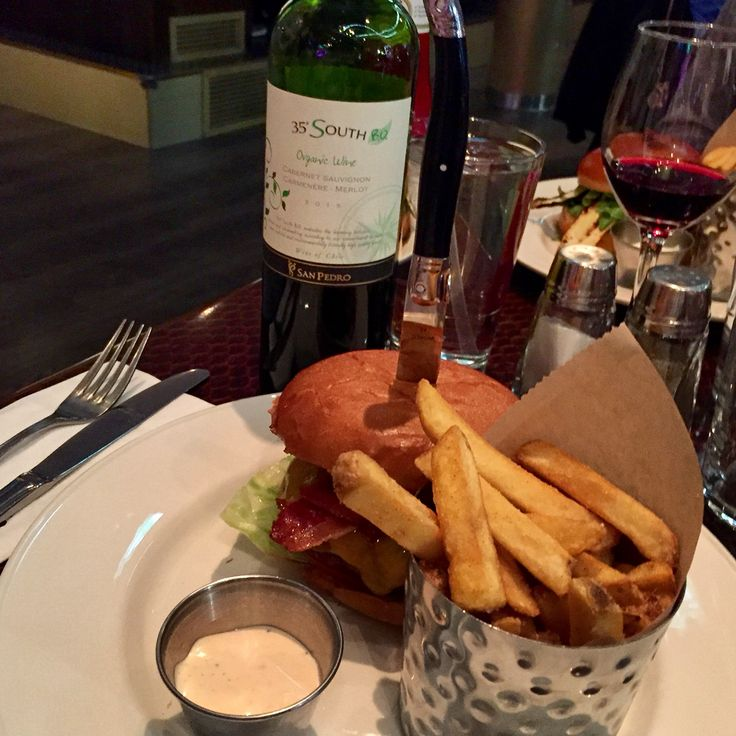 Hard Rock Cafe Helsinki and legendary burger with organic red wine