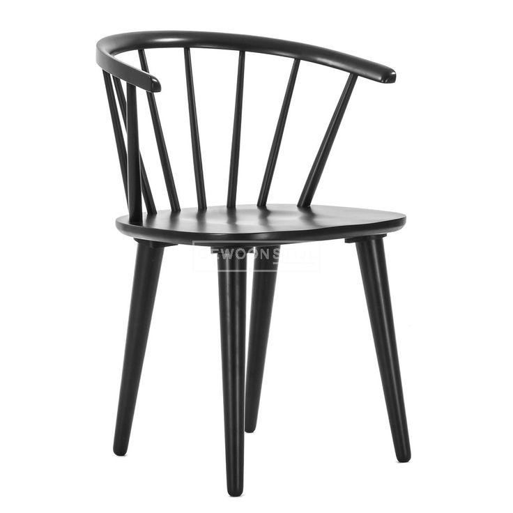 Carmen chair | zwart