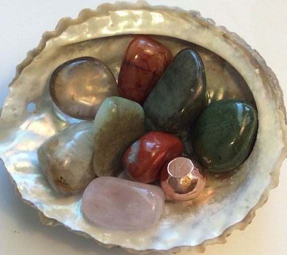Fertility stones Healing Stones Spiritual Stones by SoulswithHeart