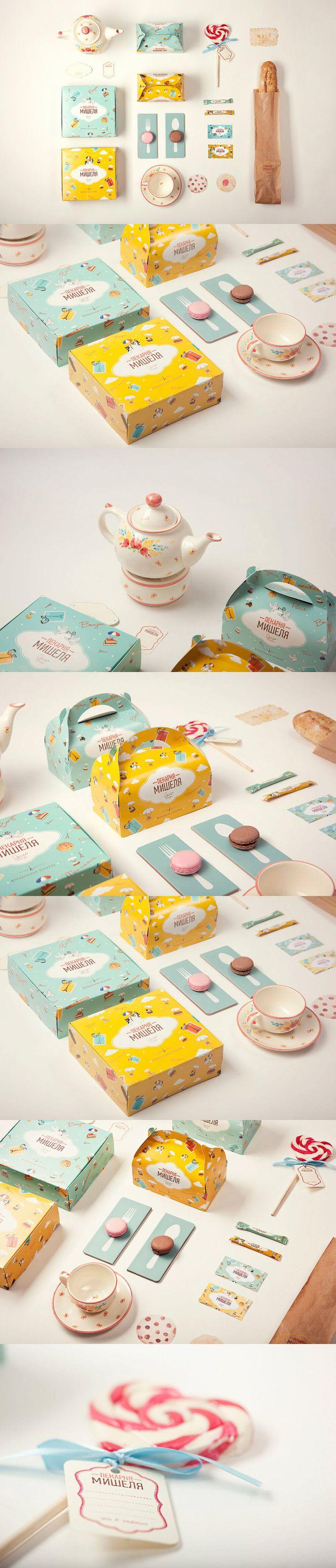 Branding Project: Michelle's Bakery by Anya Aleksandrova