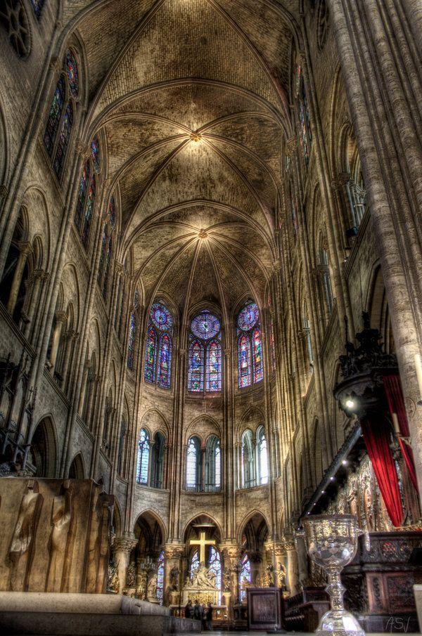 Cathedrale Notre Dame de Paris by ~AyseSelen