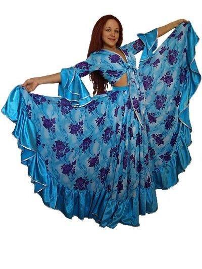 Выкройка цыганская блузка своими руками