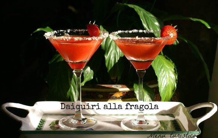 Per il piatto storico : Daiquiri (alla fragola)