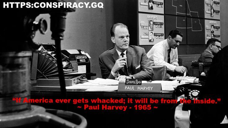 """""""If America ever gets whacked; it will be from the inside."""" ~ Paul Harvey – 1965 ~ FREEDOM TO CHAINS (BEST VERSION) – The United States of Paranoia"""