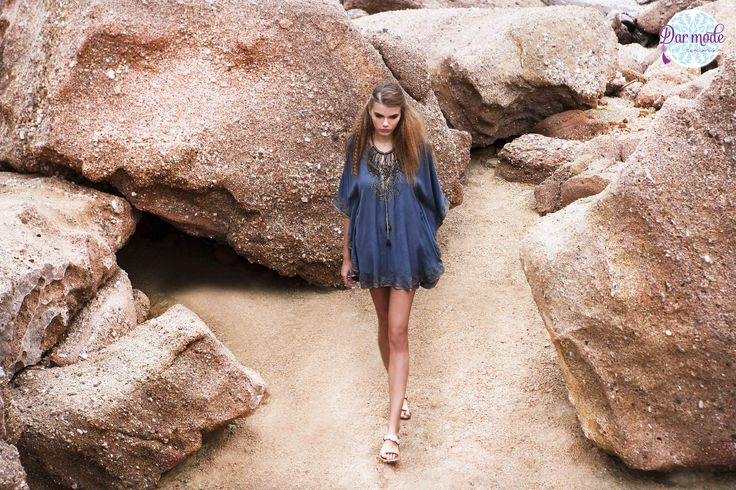 Tunic Yasmina・Salt in the air Sand in my hair lookbook