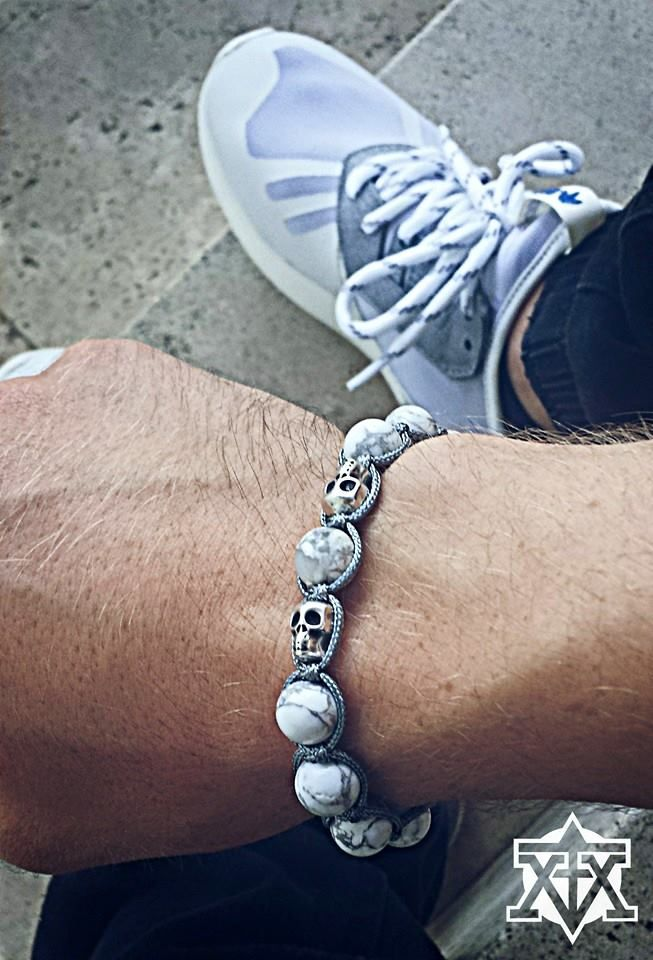 Custom made Skull Shamballa by FXMX Empire