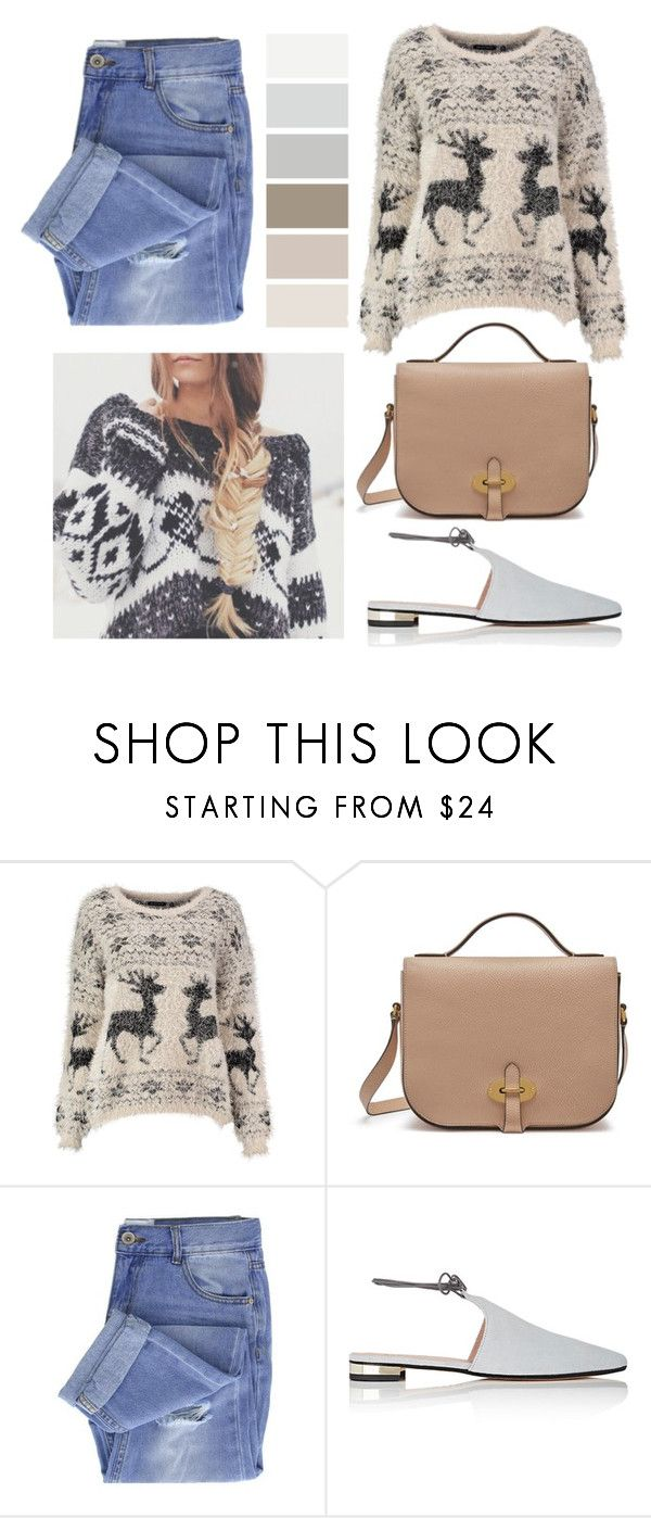 """O Holy Night"" by aestheticgrace2002 ❤ liked on Polyvore featuring Mulberry, Taya, Barneys New York and Christmas"