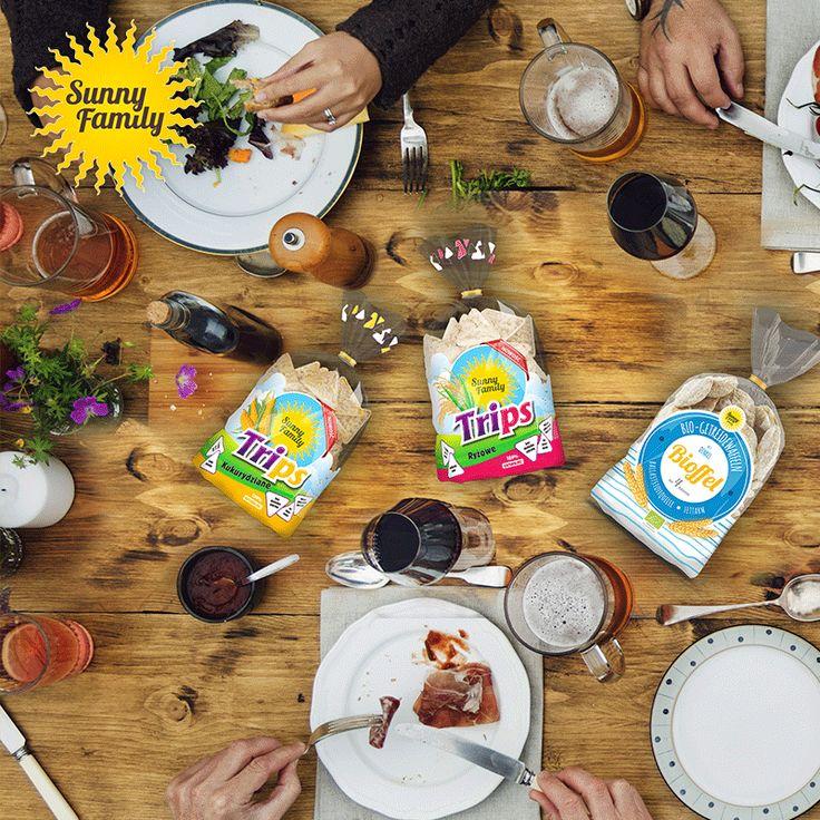 Dobre jedzenie gromadzi wokół siebie samych dobrych ludzi!  #sunnyfamily #naturalne #wafle #wafers #dobre #jedzenie