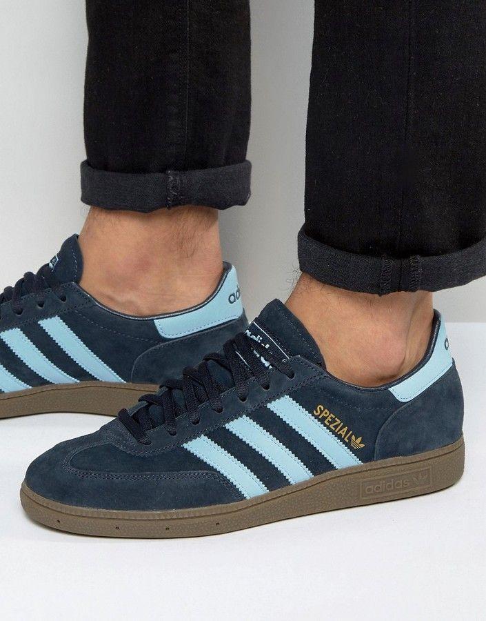 adidas Originals Spezial Sneakers In Navy 034988