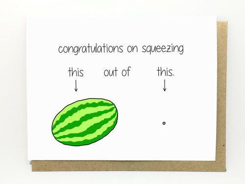 LOL! These pregnancy conratulations cards are terrible, but SO funny! Click for our list of cards that you will totally want to send, but probably shouldn't!