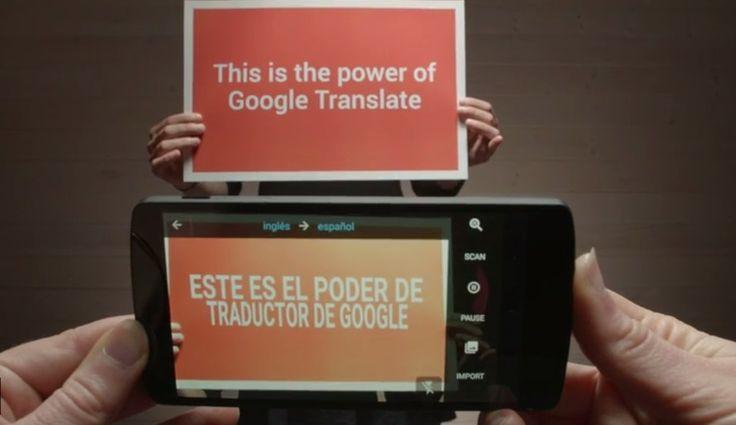 Rompe Google barreras de idioma al añadir funciones a su traductor