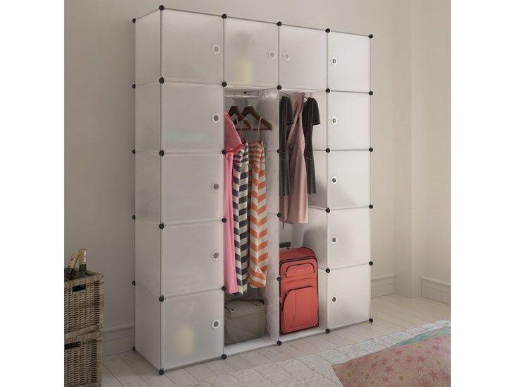 Stylowa i funkcjonalna szafa modułowa nie tylko reprezentuje Twój świetny gust, ale także chroni Twoje rzeczy przed kurzem czy to w pokoju dziecinnym, nowoczesnym salonie, sypialni czy przedpokoju. Wy ...